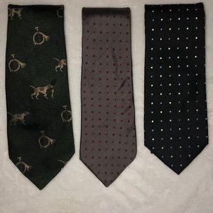 Other - Men's Neckties. Vintage Dior, Polo & Jos A Bank